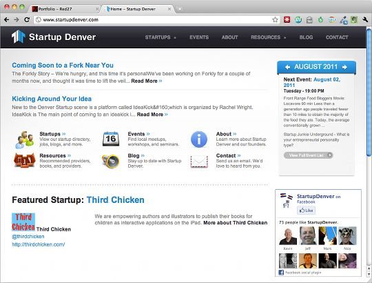 StartupDenver Home Page